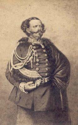 Koning Victor Emanuel II, Bron: Ned.Zouavenmuseum