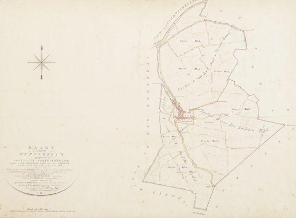 Verzamelplan van de gemeente Oudenbosch in 1832