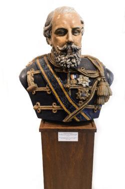 Koning Willem III borstbeeld